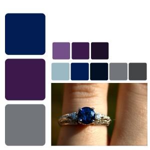 color love blue